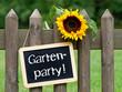 Gartenparty !