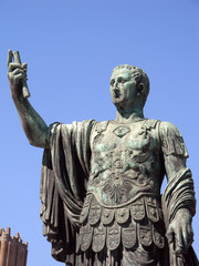 statue de césar