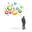 Réseau social et communication