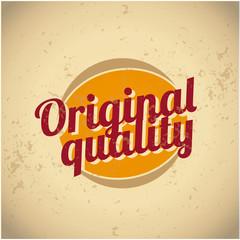 Original quality vintage sign