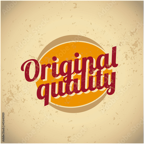 Original quality vintage sign