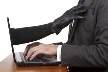 Internet theft.