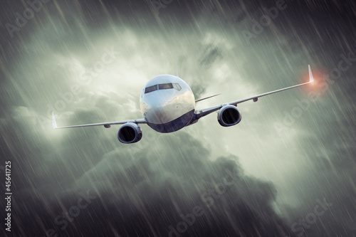 Stormy Flight