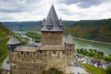 "The tourist route""Castles of the Rhine"". Bacharach, Germany"