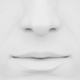 nose and lips 3d