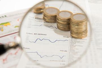 Kursentwicklung an der Börse