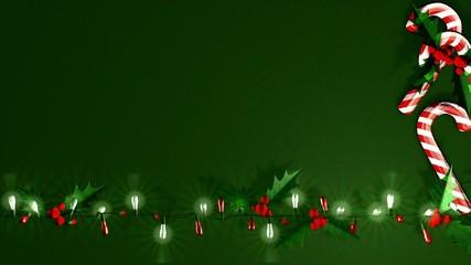 Beautiful Xmas LED light decoration.