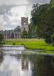 canvas print picture - Fountains Abbey