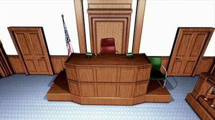 USA courtroom