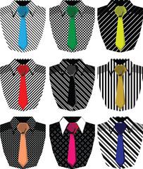 Men's shirt. Vector illustration