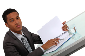young black executive consulting report