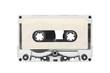 Vintage Blank White Audio Cassette