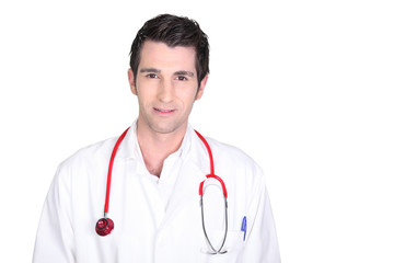 a young doctor