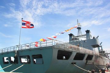 warship  in Thailand