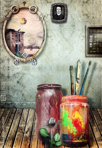 Atelier of painting