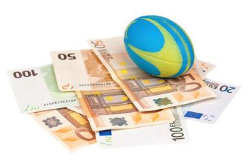 Euro and ball