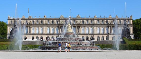 The Herrenchiemsee Palace. Bavaria, Germany.