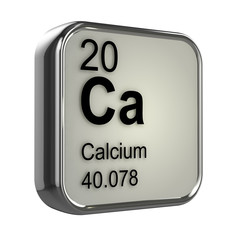 3d Periodic Table - 20 Calcium