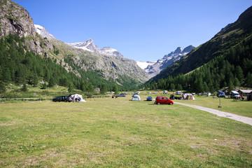 camping a Pont - Valsavaranche