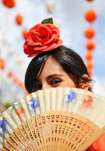 Mujer en la Feria