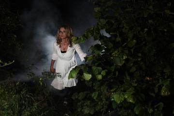 Vampir im Unterholz