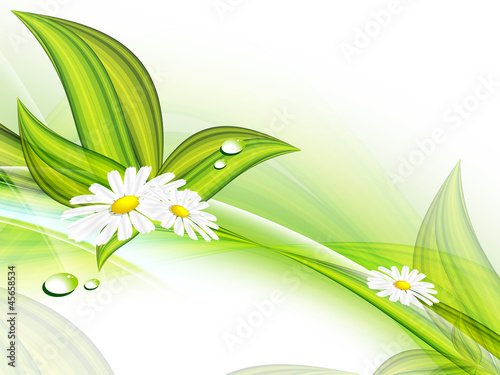 floral vector background. Eps10