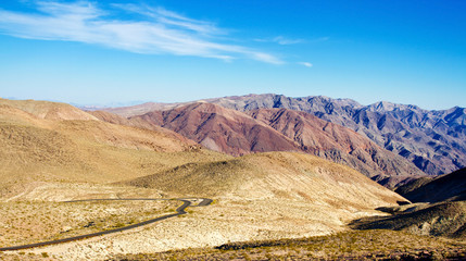 Death Valley, view from Dante's view, California, USA