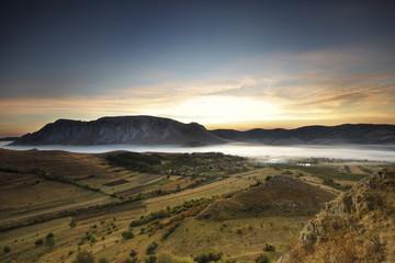 Sunrise in Transylvania