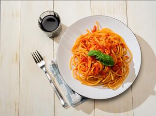 Bucatini Amatriciana - Pasta amatriciana