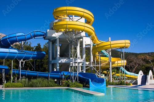 Aqua-park in Turkey - 45661378