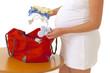 Grossesse - Départ à la maternité