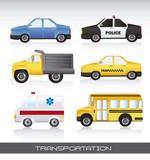 Fototapety cars vector