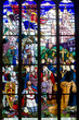 Dinan, stained glass