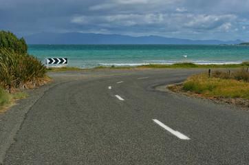 Strasse in Neuseeland
