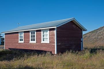 Island - Der Nordosten - Holzhaus am Myvatn-See