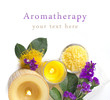 aromatherapy with violet