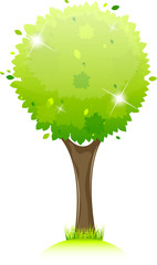 Shiny tree icon