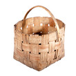 old wicker basket.