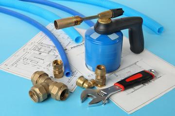 Plan construction plomberie