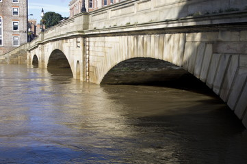 York Floods, Ouse Bridge
