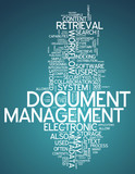 "Word Cloud ""Document Management"""
