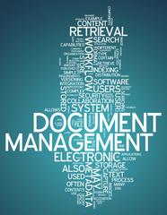 """Word Cloud """"Document Management"""""""