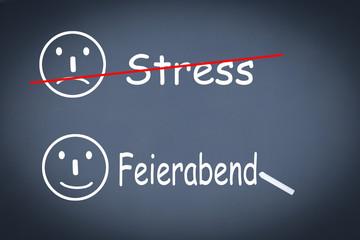 Stress Feierabend
