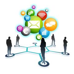 Le réseau social