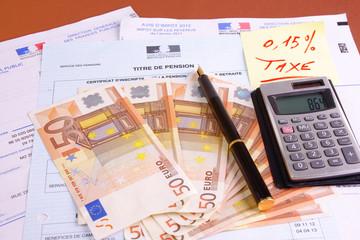 taxe sur retraites