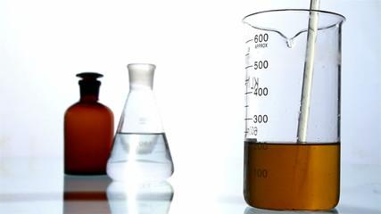 video laboratory study of water, HD