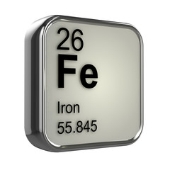 3d Periodic Table - 26 Iron