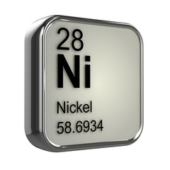 3d Periodic Table - 28 Nickel