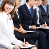 Business meeting, seminar or training