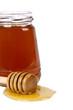 miel aislado en blanco
